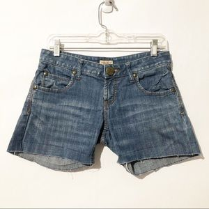 Free People Raw Hem Shorts Size 26